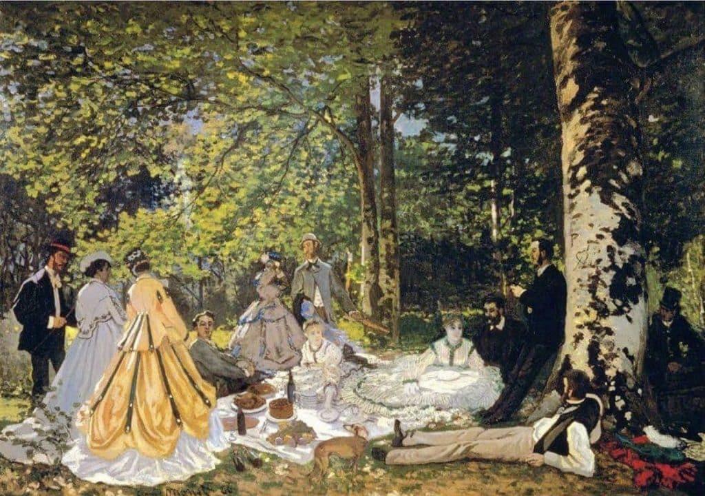 Monet's picnic in paris
