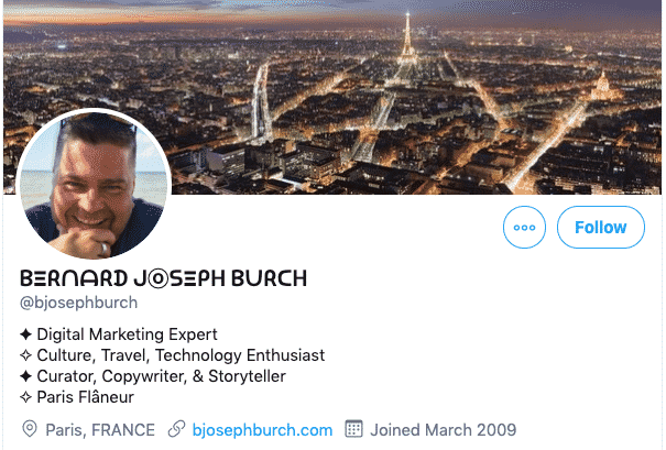 change your twitter profile font