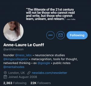 Anne-Laure Le Cunff