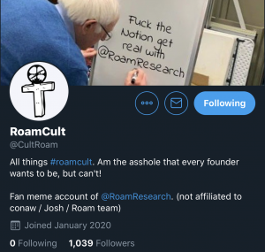 RoamCult Roam Research