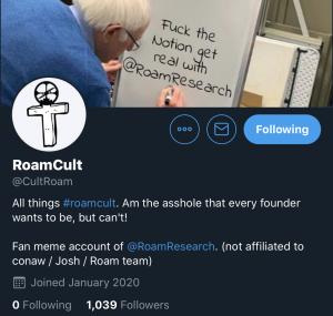 RoamCult Roam Research