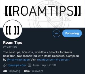 RoamTips Roam Research