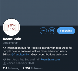RoamBrain Roam Research
