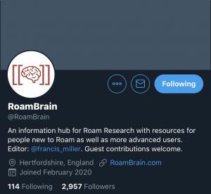 RoamBrain Roam Research