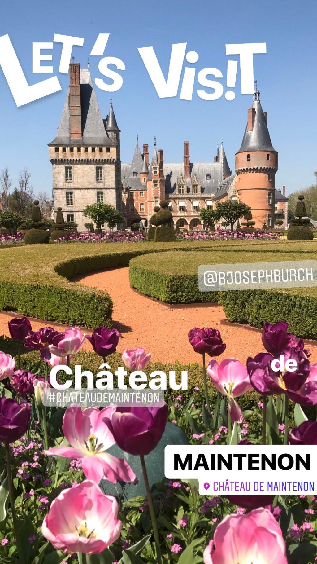 Let's Visit Chateau Maintenon